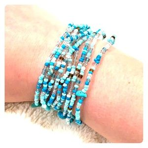 Jewelry - Turquoise Beaded Bracelets!